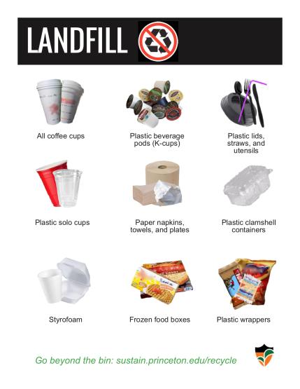 Landfill poster